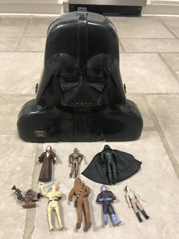Darth vader - kammer mit 8 action - figuren