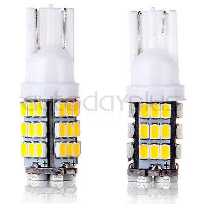 Warm White T10/921/194/906 RV Trailer 42SMD 12V Backup Reverse LED Lights Bulbs