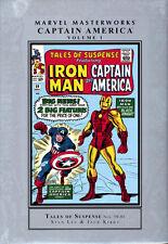 MARVEL MASTERWORKS CAPTAIN AMERICA VOL #1 HARDCOVER Tales of Suspense Comics HC