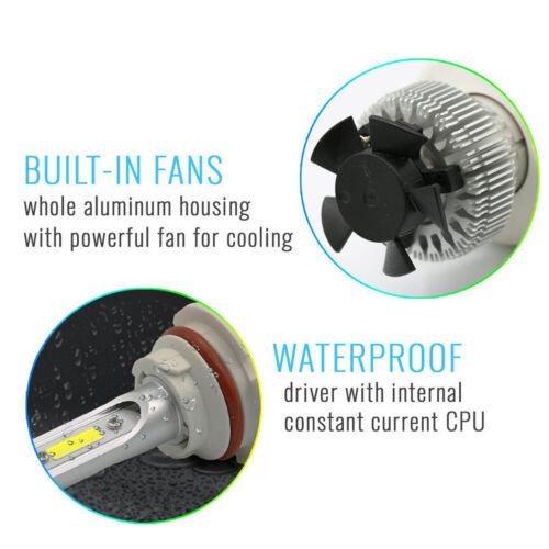 A1 2x H13 9008 LED Headlight Bulbs Conversion Kit High Power 6000K Pure White