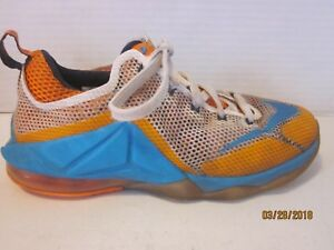 sports shoes d4a1c 4494d Image is loading Nike-Lebron-12-Low-Earned-Size-5-5-