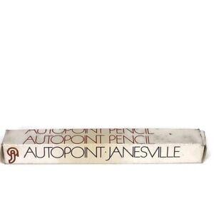 Vintage Autopoint Mechanical Pencil Starcut Sales Dual Color Red & Black