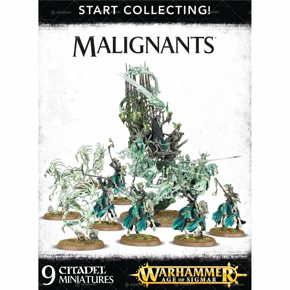 WARHAMMER Age of Sigmar  collecte  maléfiques GWS 70-93 NEW IN BOX
