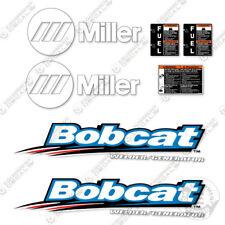 Miller Bobcat Generator Decals
