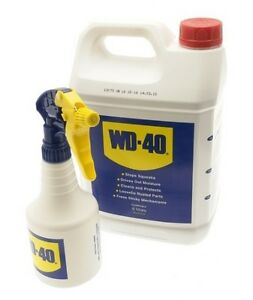 5ltr maintenance spray rust lube penetrating oil 5 litre wd40 car bike. Black Bedroom Furniture Sets. Home Design Ideas