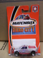 Matchbox Emergency Responce 4x4 11 Hero-city Nip