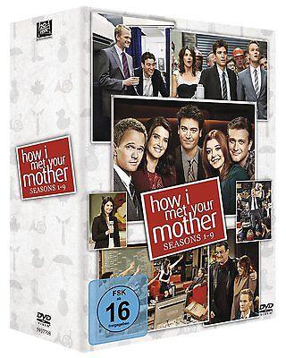 HOW I MET YOUR MOTHER 1-9 1 2 3 4 5 6 7 8 9 KOMPLETTBOX DVD DEUTSCH