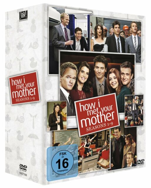 HOW I MET YOUR MOTHER 1-9 1 2 3 4 5 6 7 8 9 KOMPLETTBOX DVD DEUTSCH