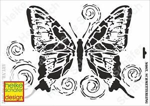 mariposa-nuevo-heike Schäfer Design Galería de símbolos-stencil a3 420-5042 nostalg