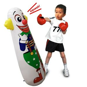 Image Is Loading 42 039 H Inflatable Punching Bag Clown