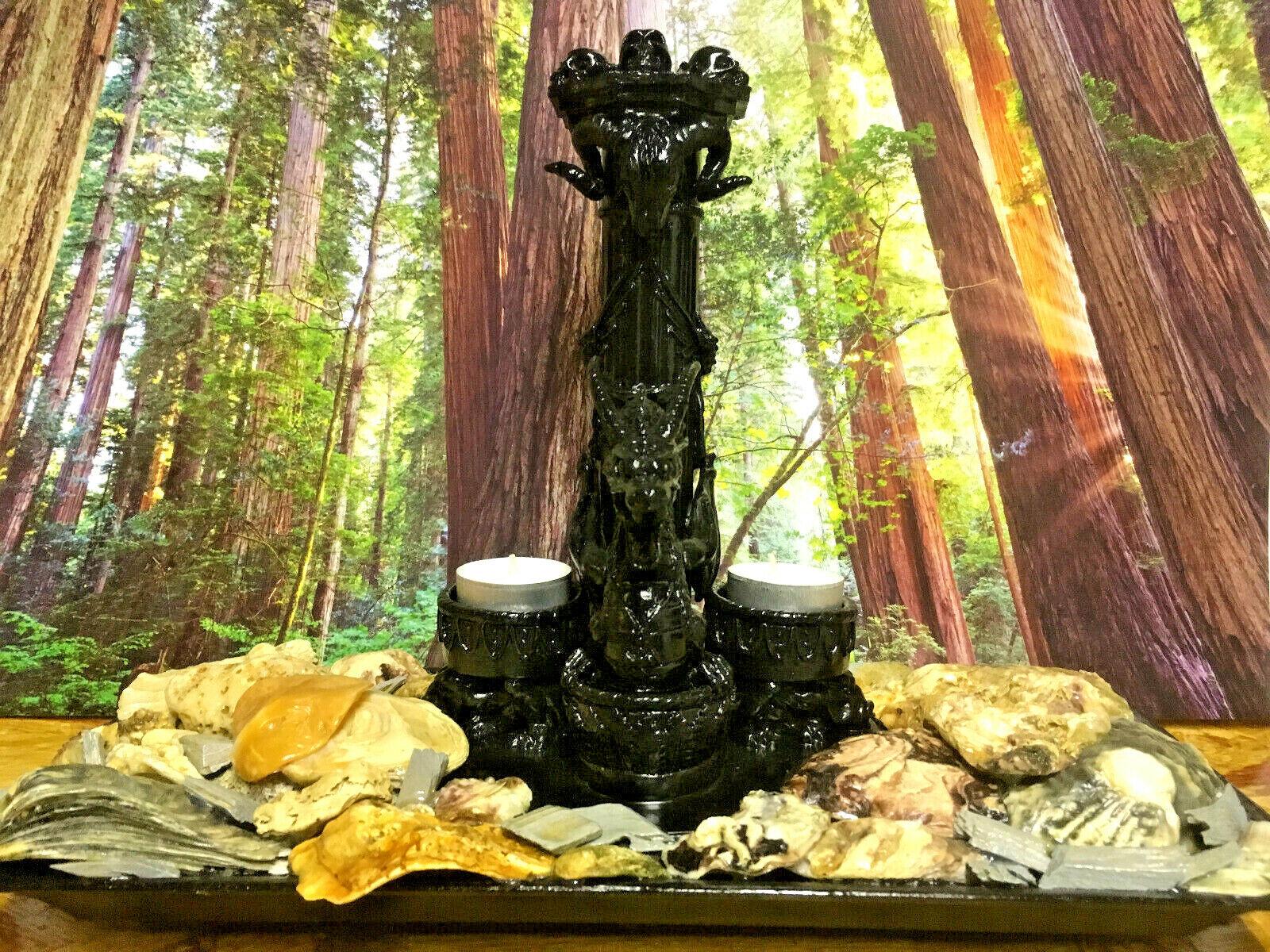 Kerzenhalter Drachen   Dekoration   Teelichter   Geschenke   Art.-Nr. 223