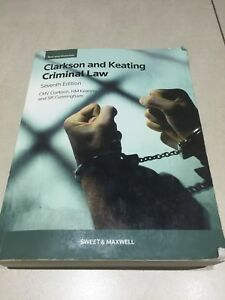 clarkson keating criminal law text and materials