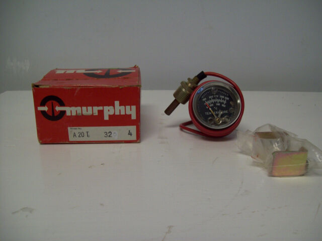 10702044 Murphy by Enovation Controls 20T-250-8-1//2 Temperature Swichgage