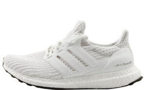 super popular 86b58 0b681 Details about Adidas Ultra Boost 4.0 Primeknit Triple White Running Shoes  BB6168
