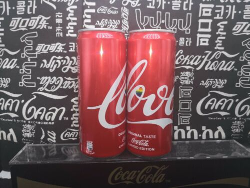 Italy 2018 coca coke cola LOVE Not for sale can empty