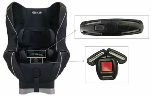 Graco My Ride 65 /& LX Toddler Child CarSeat Harness Chest Clip/&Buckle Safety Set