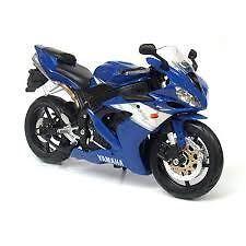 Maisto Diecast 1/12 Yamaha YZF-R1 Blue Racing Moto Motorcycle #31101