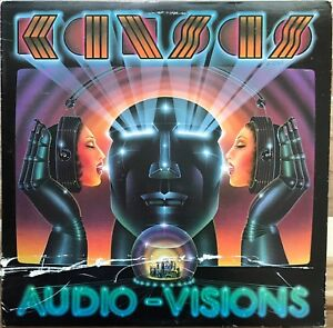 Kansas-Audio-Visions-Kirshner-FZ-36588-LP-Vinyl-Album