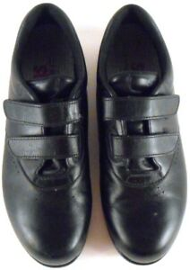 SAS-Me-Too-Walking-Comfort-Shoes-Black-Women-039-s-Size-7-5-N-Diabetic-Easy-Close