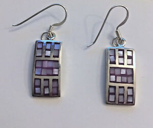 Bright-Sterling-Silver-Shell-Squared-Earrings