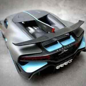 Maisto-Diecast-Escala-1-18-Edicion-Especial-Modelo-de-Coche-Gris-Mate-Bugatti-Divo
