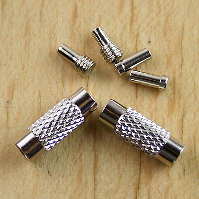 20sets  screw Clasp findings  for Stainless Steel Chain  h0697