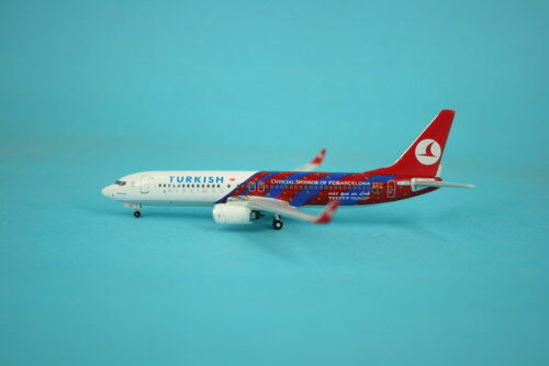 Turkish Airlines B-737-800 (TC-JGY)  FC Barcelona , 1 400 Phoenix