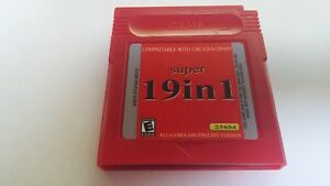 Game-Boy-Color-Advance-super-19-in-1-Spiele-Modul-256M