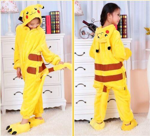Boy Girl Kid Pijamas Kigurumi Unisex Cosplay Animal disfraz dormir Xmas Gifts