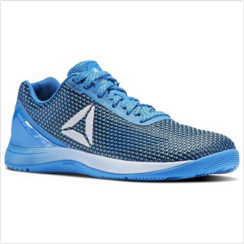 Reebok Crossfit Nano 7.0 Wouomo scarpe Dimensione 8.5 Coloree blu BS8865