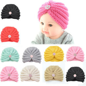 Men's Hats Warm Winter Baby Toddler Cute Girls Boys Hat Infant Knit Beanie Crochet Ski Ball Cap