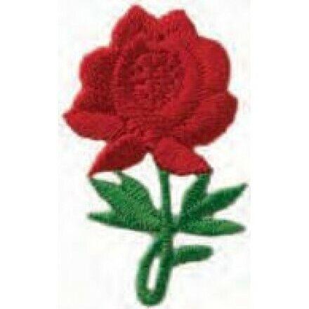 1,5x3,0 cm rot  02045 Applikationen Mono Quick  Rote Rose ca