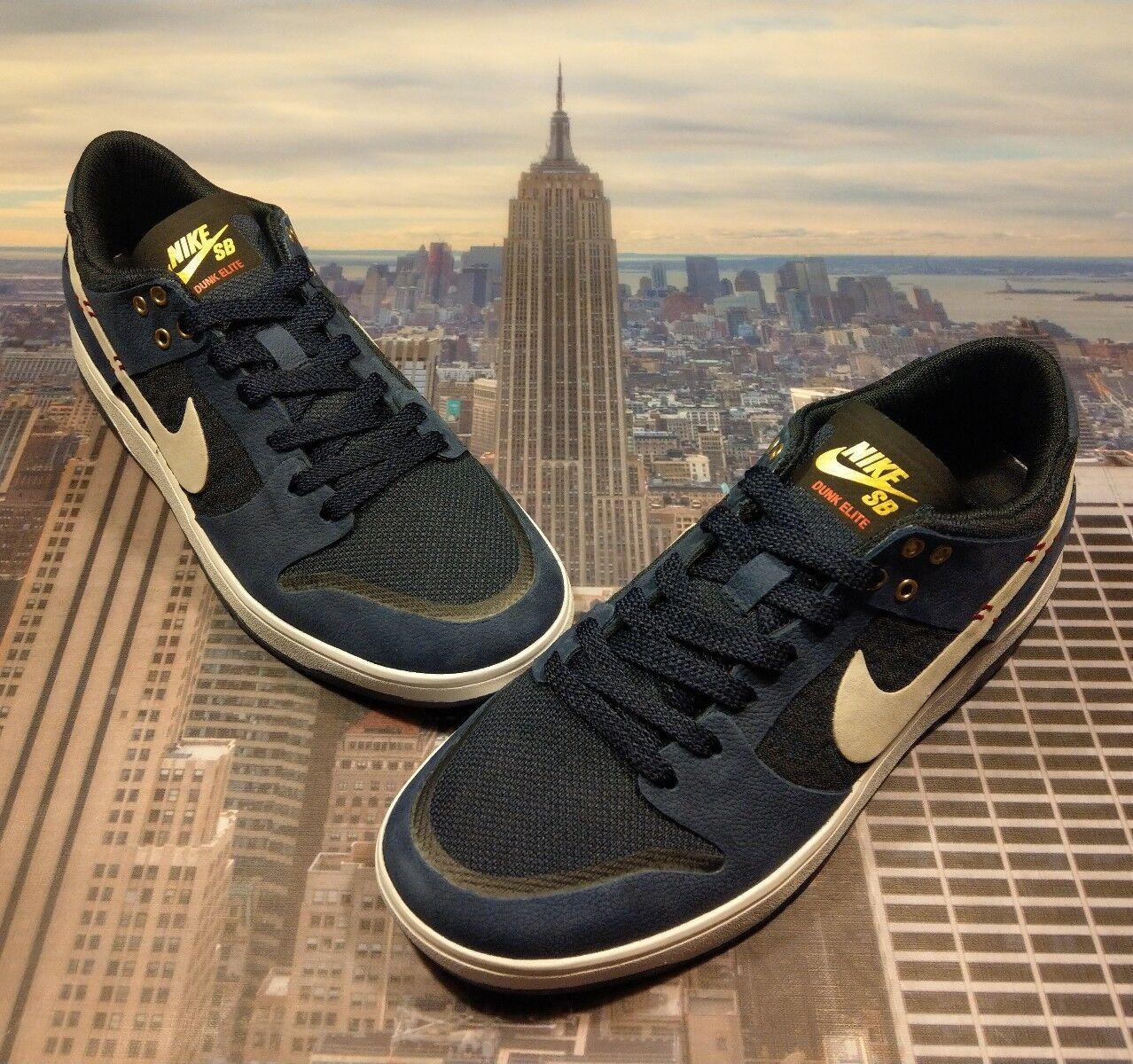 Nike sb - dunk low low dunk elite - sean malto samurai - mens größe 6 877063 416 neue a44068