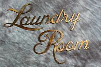 Metal Wall Art Decor Laundry Room Copper/bronze Plated