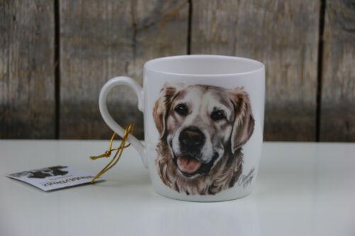Hunde Kaffee Becher // Tasse Waggy Dogz Golden Retriever 350 ml Hund