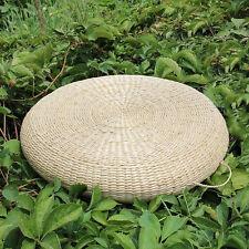 50CM Japanese Style Hand Woven Tatami Cushion Corn Breathable Pad Furniture Seat