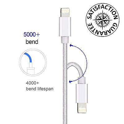 Vectr Apple Certified Lightning-to-USB Cable Black 6