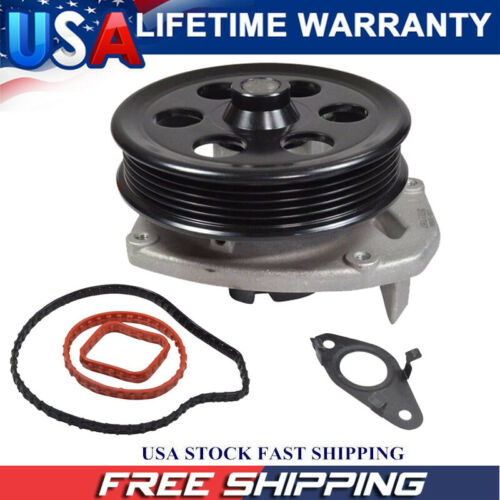 For Buick Cadillac CTS Chevy Malibu GMC Canyon L4 2.0 2.5L Engine Water Pump