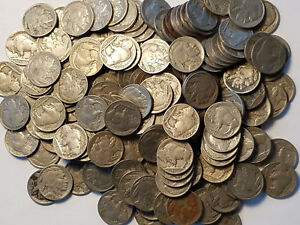 $.05 1913-1938 Buffalo Nickel Classic Indian Head All Different Lot 25