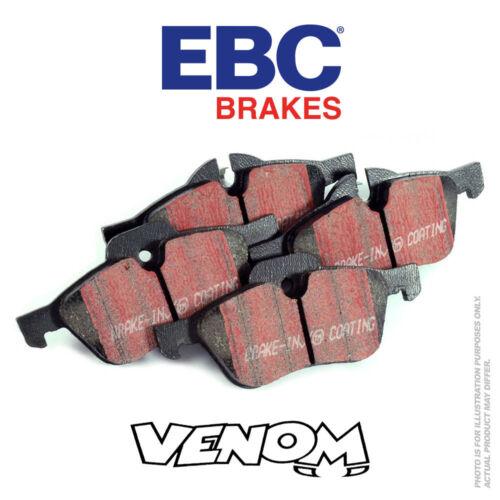 EBC Ultimax Avant Plaquettes de frein pour Fiat Barchetta 1.8 99-2005 DP1060