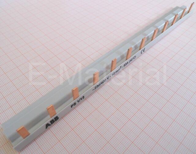 ABB Sammelschiene / Kammschiene  PS 1/12  pro M Compact  1-Phasig  Stiftschiene