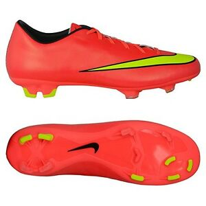 promo code 60eb0 29121 Details about Nike Mercurial Victory V FG Men's Soccer Cleats 651632-690  MSRP $80