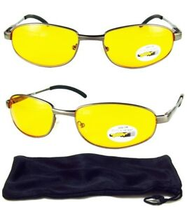 0cb85601b3e Night Vision Driving HD High Definition Safety Glasses UV Sunglasses ...