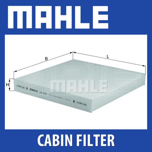 Mahle Pollen Air Filter Fits Honda Accord MK6 For Cabin Filter LA216