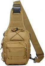Tactical Sling Bag Cross Body Chest Rucksack Military Shoulder Pack EDC Molle