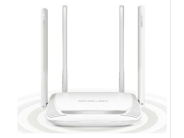 Wireless Router Mercusys MW325R N300 3x10//100Mbps ports 4 x 5 dBi fixed antenna