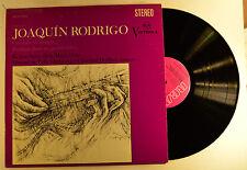 joaquin rodrigo lp concierto de aranjuez  vics-1322  vg+/m-