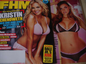 March 2006 Fhm 65 Kristin Chenoweth Sexy Cover Morgan Webb