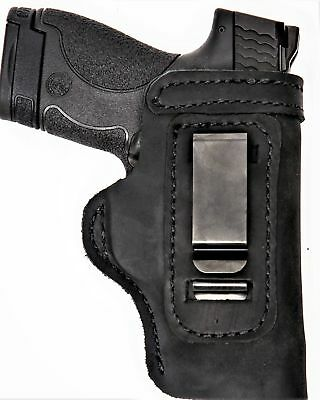 "Intelligent Pro Carry Lt Rh Lh Owb Iwb Leather Gun Holster For 1911 5"" Rails Full Size Sporting Goods"
