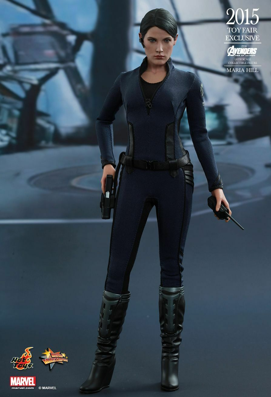 (US) Hot Toys 1 6 Marvel Marvel Marvel Avengers MMS305 Agent Maria Hill 12  Action Figure 645646